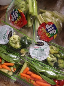 veggie snack packs